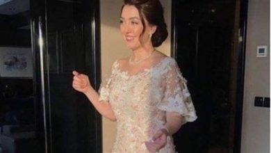 كنده علوش تعرض فستان زفافها على عمرو يوسف للبيع لهذا السبب