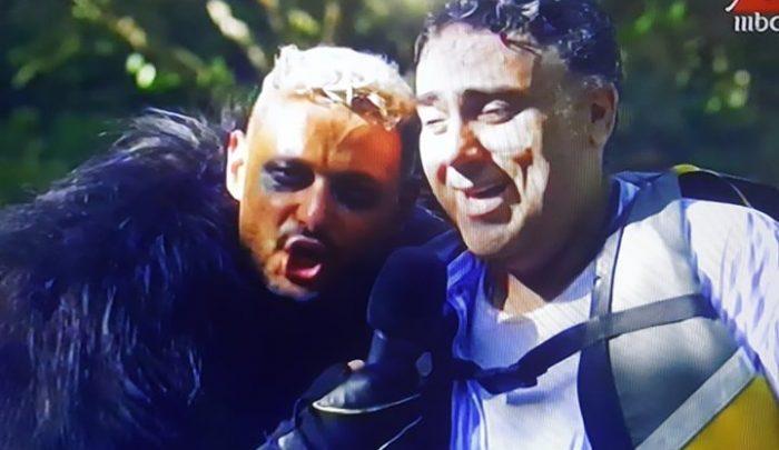 تامر حبيب يوجه رسالة للسقا بعد مقلب رامز في الشلال ..فيديو