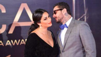 أحمد الفيشاوي وزوجته ندي الكامل