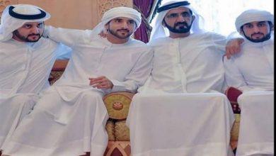 بالصور.. كيف هنأت أحلام حاكم دبي لزواج أبنائه