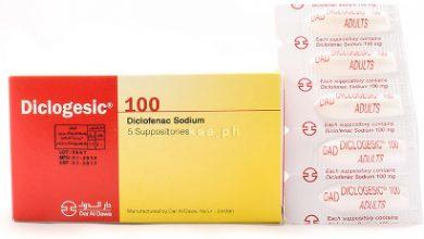 دواعي استعمال diclogesic