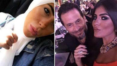 ماهيتاب ماجد المصري بإطلالة محجبة في حفل زفاف شقيقها