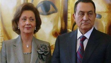 مبارك وسوزان