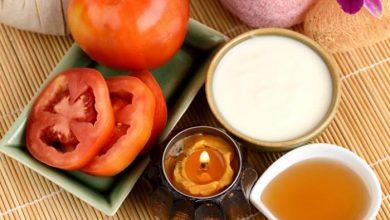 وصفة الطماطم لتبييض الوجه