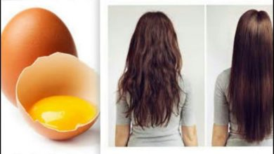 وصفة لتطويل الشعر بالبيض
