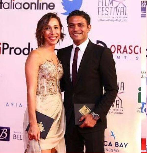 زوجة آسر ياسين