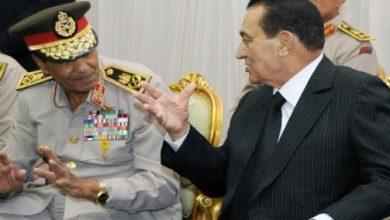 مبارك ومحمد حسين طنطاوي